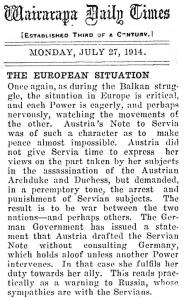 27 July 1914
