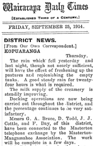 25 September 1914 TOTAL